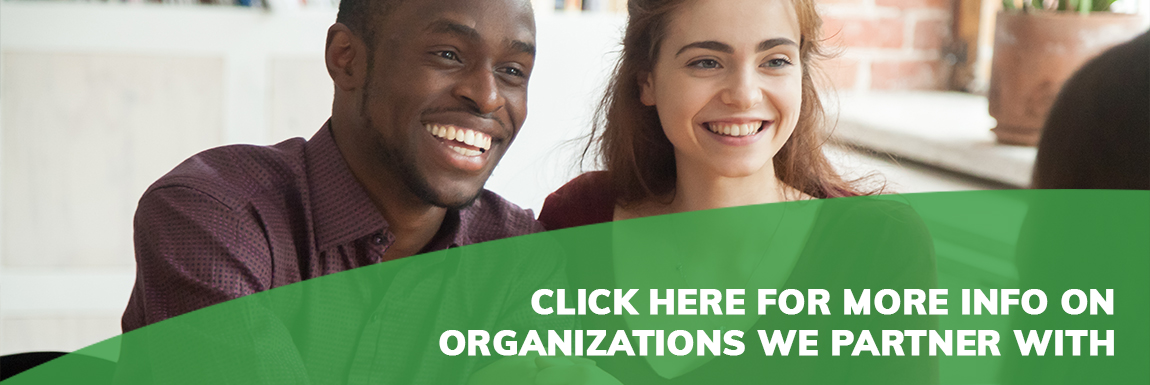 click here for more info on organizations we partner with